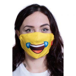 Emoji CryLaugh Mask