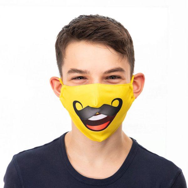 Emoji Moustache Mask