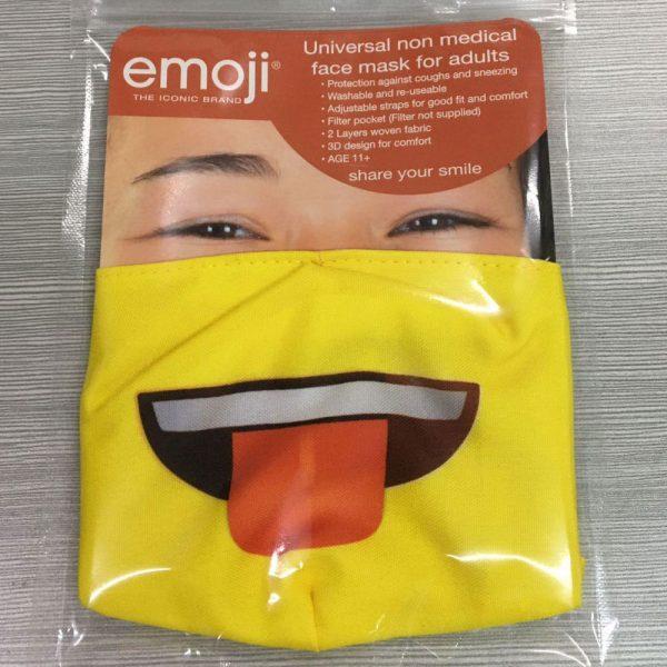 Single Emoji Tongue Mask