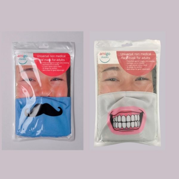 Amigo Mask pack of two
